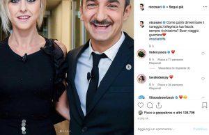 Il post di Nicola Savino per la morte di Nadia Toffa
