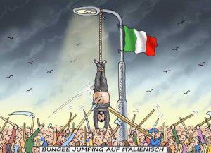 Vignetta provocatoria nei confronti di Matteo Salvini