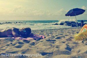 Ricadi - La spiaggia di Torre Marino