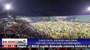 Honduras - I tifosi all'interno dello stadio