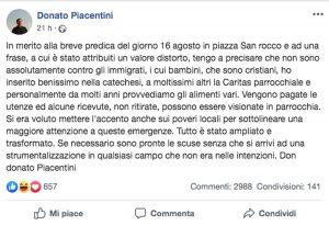 Sora - Il post di Donato Piacentini