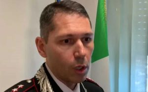 Il colonnello Marco Pucciatti