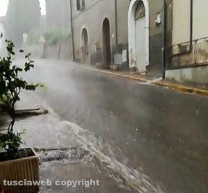 Nubifragio a Sipicciano