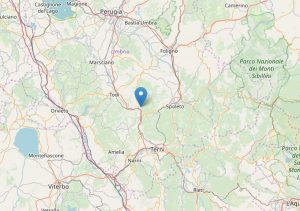 Terremoto tra Acquasparta e Massa Martana