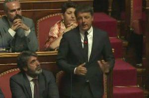Crisi di governo - Il discorso di Matteo Renzi in Senato