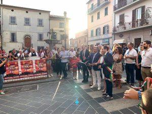 Castiglione in Teverina - Festa del vino - Il taglio del nastro