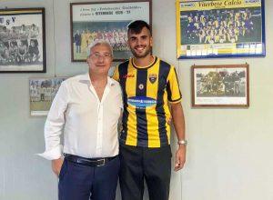 Sport - Calcio - Viterbese - Michele Volpe col presidente Romano