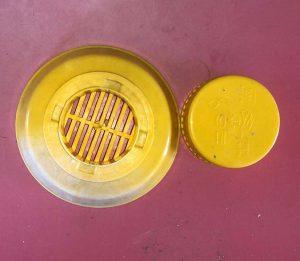 Orte - I contenitori per l'olio usato recuperati