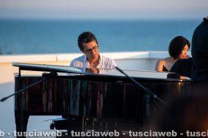 """Tarquinia - Un momento di """"Emozioni in musica sul mare al tramonto"""""""