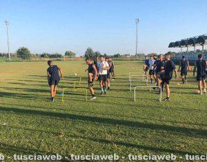 Sport - Calcio - L'allenamento della Nuova Pescia Romana