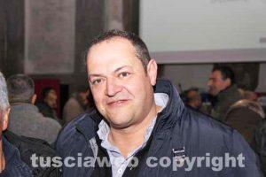 Viterbo - Sodalizio facchini di santa Rosa - Il vicepresidente Luigi Aspromonte