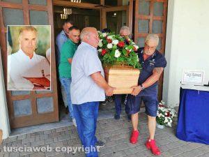 Viterbo - Il funerale di Luigi Matteucci