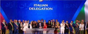 """""""Free Iran"""", una delegazione della Tuscia al convegno in Albania"""