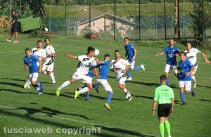 Sport - Calcio - L'amichevole Viterbese-Montespaccato
