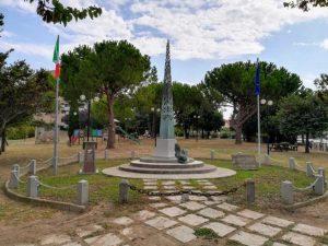 Tarquinia - Il monumento al bersagliere
