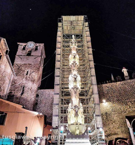 Viterbo - La macchina di santa Rosa a San Sisto - Foto Francesco D'Angelo Lampignano