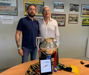 Mamanero Caffè sarà al fianco dei gialloblù come official partner