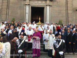 Viterbo - La processione del cuore di Santa Rosa