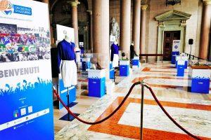 """Sport - Calcio . La mostra """"Un secolo d'Azzurro"""""""