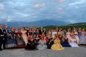 Viterbo - Gran ballo ottocentesco a Villa Lante