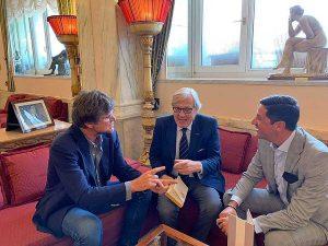 Filippo Rossi, Vittorio Sgarbi e Felice Casini