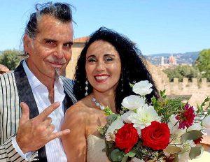 Piero Pelù e Gianna Fratta