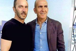 Alfredo Battella con Paolo Di Canio