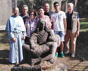 Tarquinia - La Pietà donata dallo scultore Giulio Cosimi Bagada al convento di S. Francesco