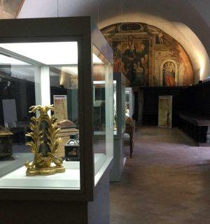 Le reliquie del monastero di santa Rosa in mostra
