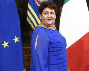 Il ministro Teresa Bellanova