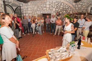 Grotte di Castro - Il banchetto etrusco