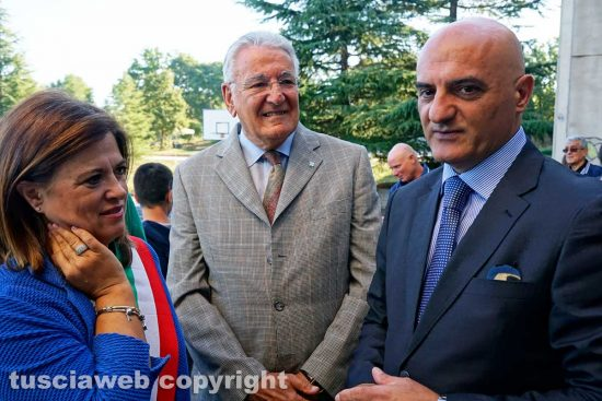 Vetralla - Annamaria Palombi, Stefano Grego ed Eugenio Stelliferi