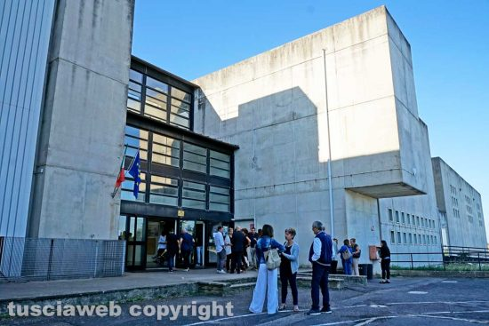 Vetralla - L'inaugurazione del liceo sportivo al Canonica