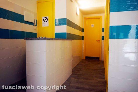 Viterbo - I bagni pubblici ristrutturati dalla diocesi