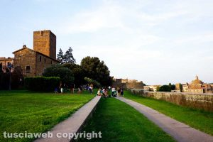 Tuscania - Il parco Torre di Lavello
