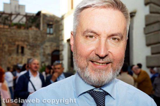 Bomarzo - Il ministro della difesa Lorenzo Guerini