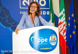 Viterbo - Mariastella Gelmini