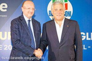 Viterbo - Vincenzo Boccia e Antonio Tajani