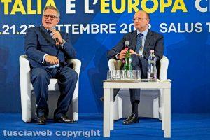 Viterbo - Paolo Liguori e Vincenzo Boccia