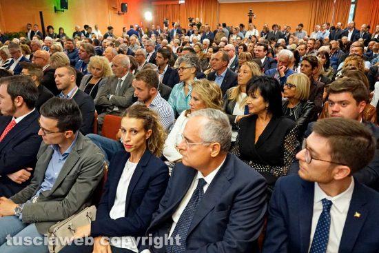 Viterbo - La giornata conclusiva della Convention di Forza Italia