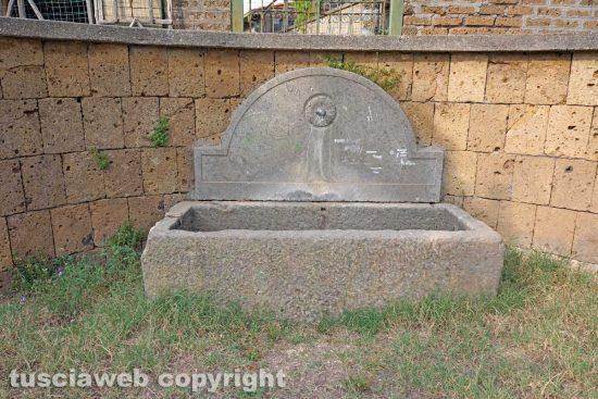 Tre Croci - La fontana romana