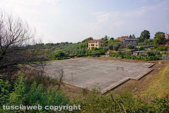 Tre Croci - I campi da tennis e di calcetto