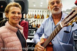 Viterbo - Daniela Poggi ed Enrico Burla