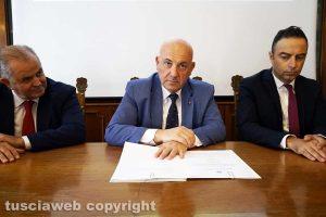 Viterbo - Massimo Macera, Giovanni Bruno e Pietro Nocchi