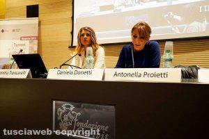 Viterbo - Alessandra Troncarelli e Daniela Donetti