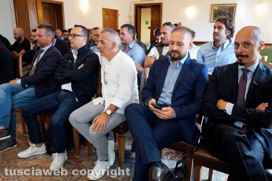 Viterbo - I rappresentanti delle imprese fotovoltaiche