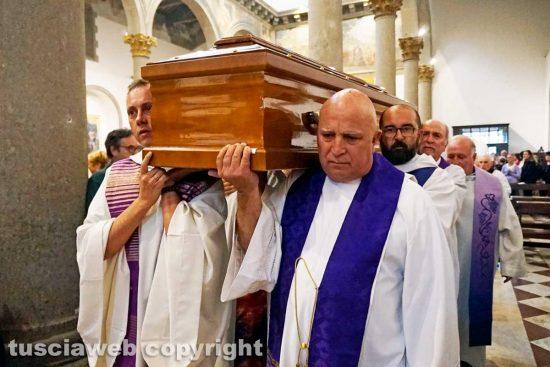 Viterbo - I funerali di don Dante Bernini
