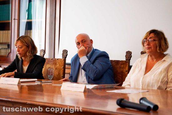 Viterbo - Margherita Eichberg, Giovanni Bruno e Maria Letizia Arancio