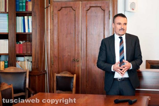Viterbo - Il vice sindaco di Tarquinia Luigi Serafini