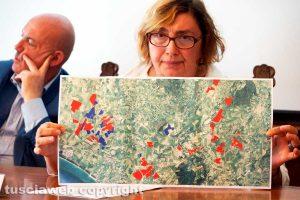 Viterbo - Gli impianti fotovoltaici previsti nella Tuscia mostrati da Maria Letizia Arancio